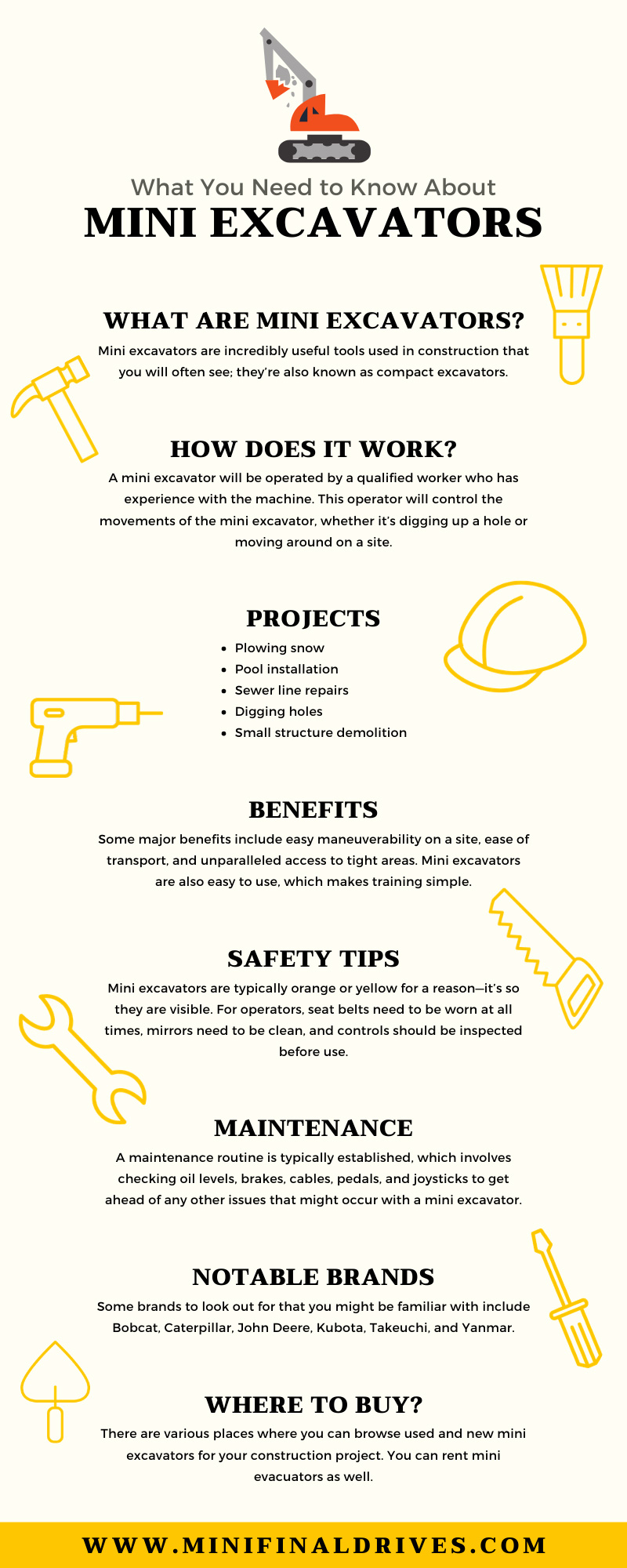 What You Need to Know About Mini Excavators